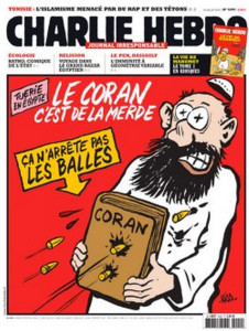 "The caption reads: ""The Qu'ran is crap. It does not stop bullets."""