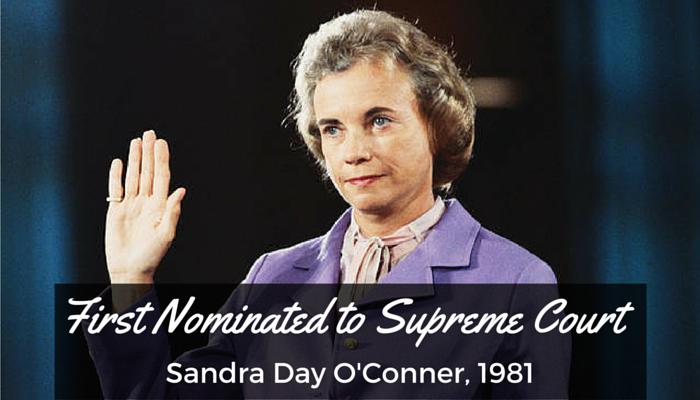 #12 Nominated to SCOTUS