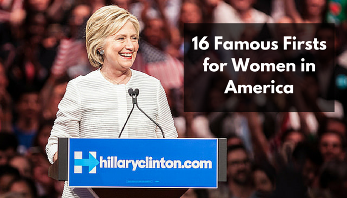 On the Shoulders of Generations: From Seneca to Clinton, 16 Famous Firsts for Women in America