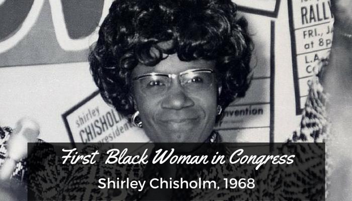 #16 Shirley Chisholm