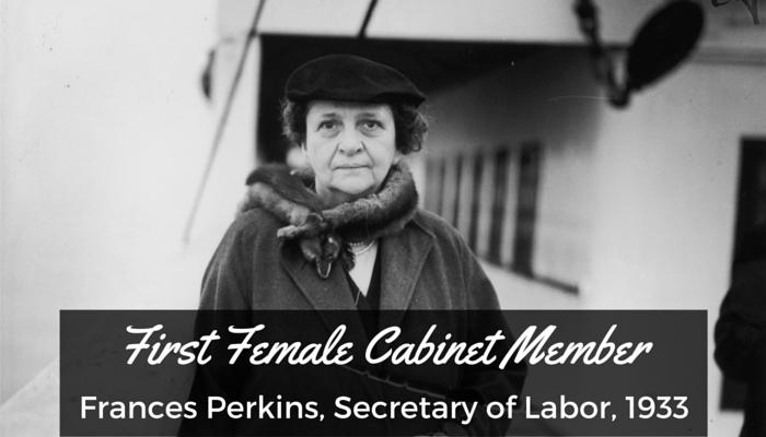 #8 Female Cabinet Member