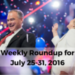 Weekly Roundup for July 25-July 31: Sorry, We're Closed